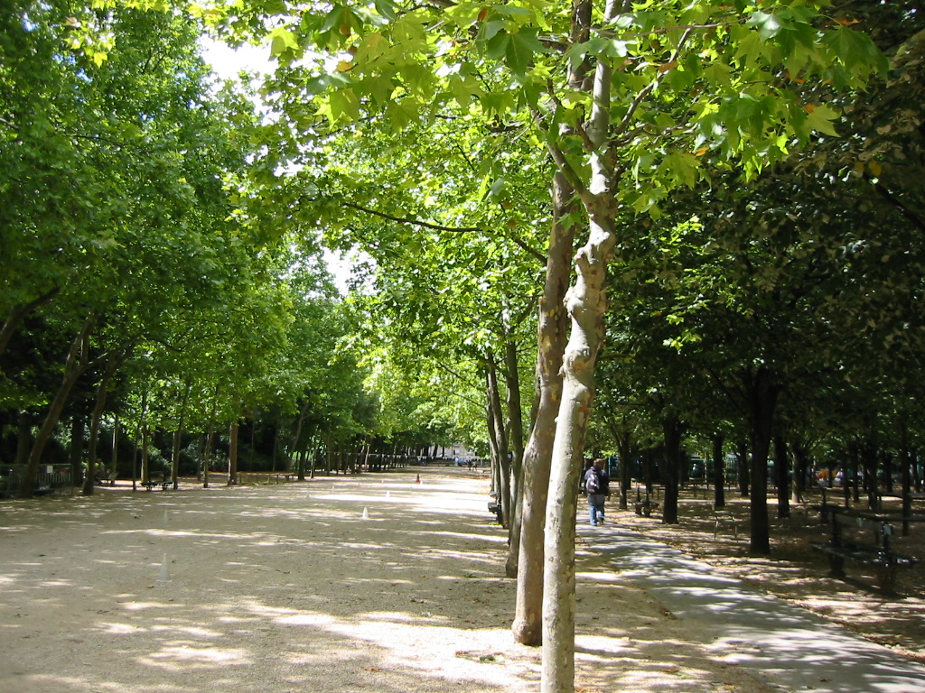 A path in Luxembourg Gardens