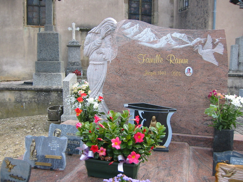 Looks like Jacques Ramm is the first to make use of the family plot. So elaborate.