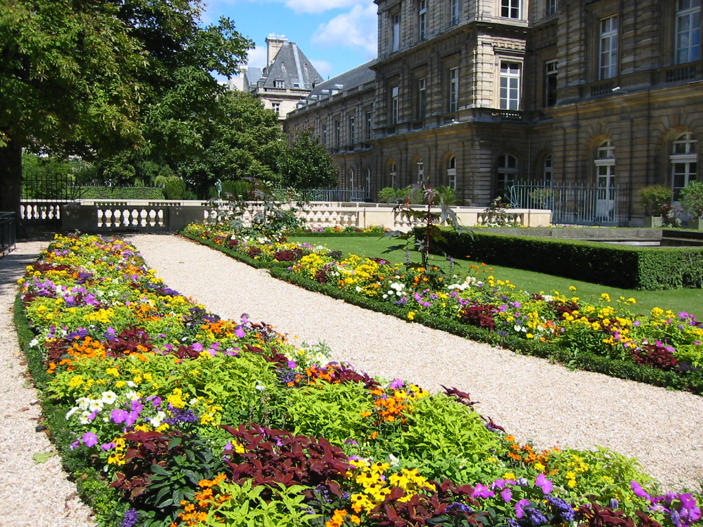 The grounds of Luxembourg Palace.