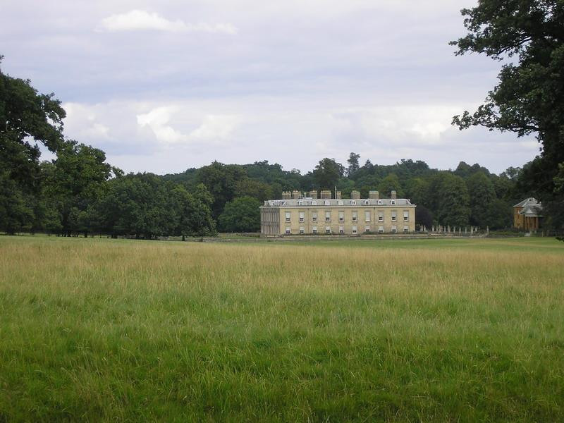 Althorp House seen from the main driveway.