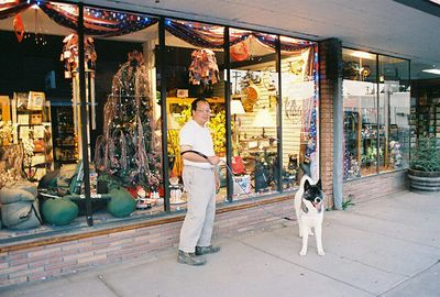 "7/4/05 ""The Belligerent Duck"", Main Street, Alturas, Modoc County, CA"