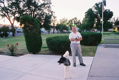 7/4/05 Outside the Modoc County Courthouse, Alturas, Modoc County, CA