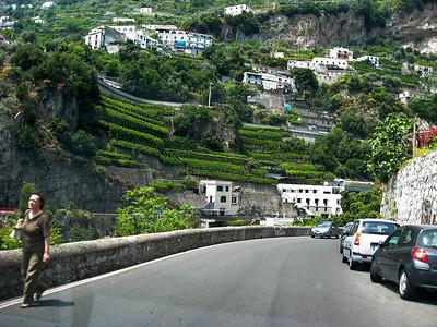 Gardens near Amalfi