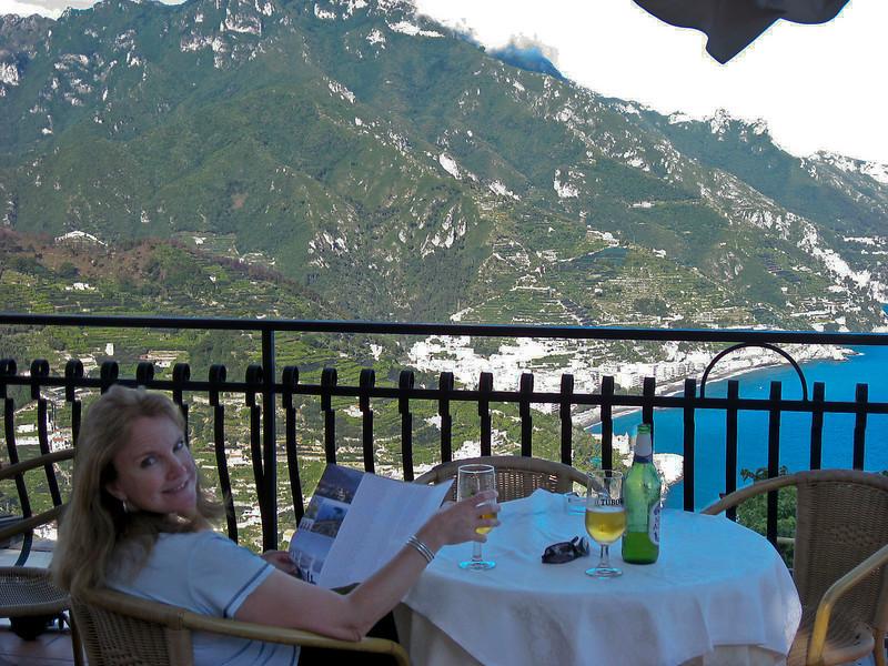 Bar in Hotel Garden Ravello overlooking Maiori