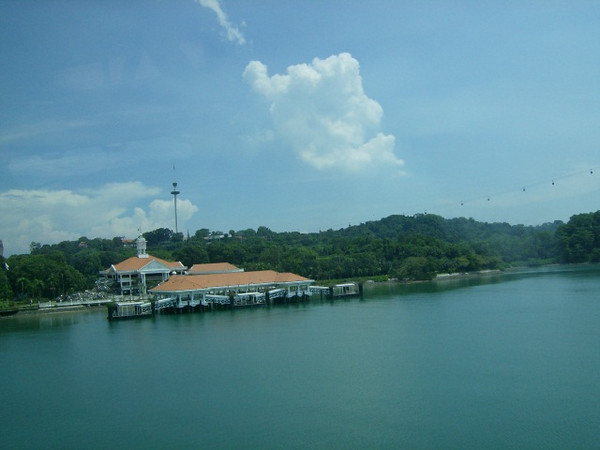 That's one  view of Sentosa Island
