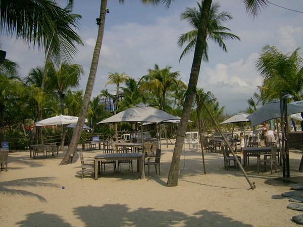 We had lunch on the beach here
