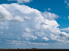 Forming thumderstorm, between Childress and Amarillo, Texas.