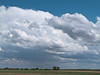 Storm forming over the high plains of west Texas.