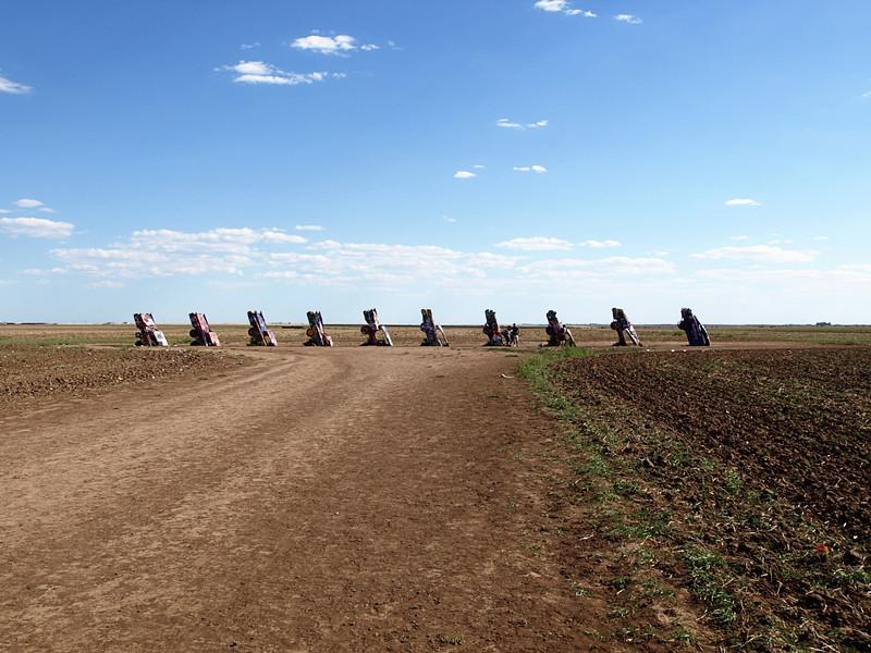 Cadillac Ranch - Amarillo, Texas  Order Code: C3