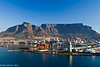 Table Mountain and the Lion's Head viewed from the bay