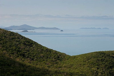 North Queensland, September 2007. View from Hamilton Island.