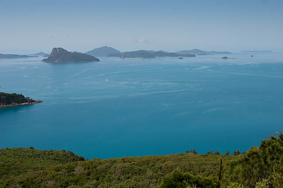 View from Hamilton Island. North Queensland, September 2007