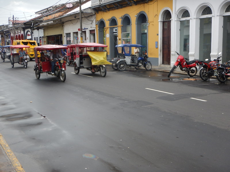Iquitos is former colonial town and is the largest city that can only be reached by airplane or boat.