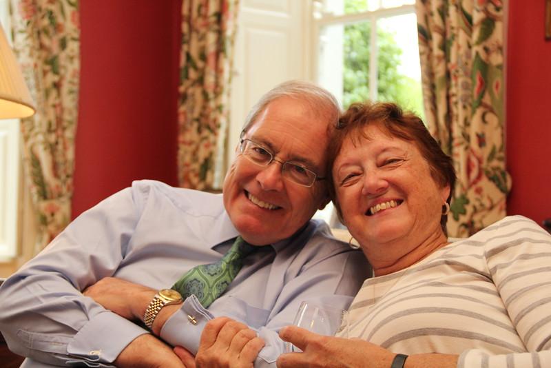 Ambassador O'Malley and Kathy.