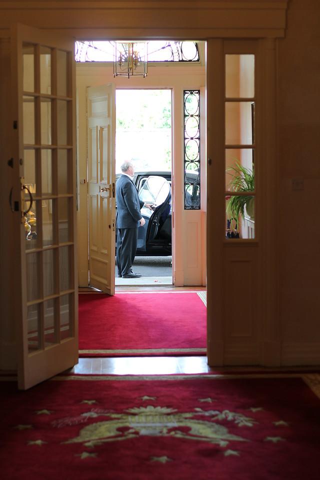 The Ambassador arrives!