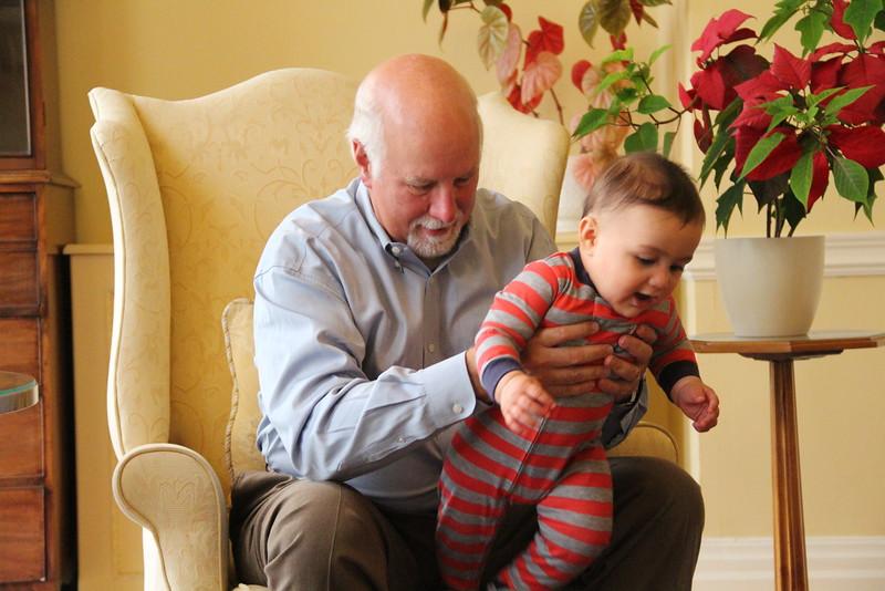 Grandpa lessons.