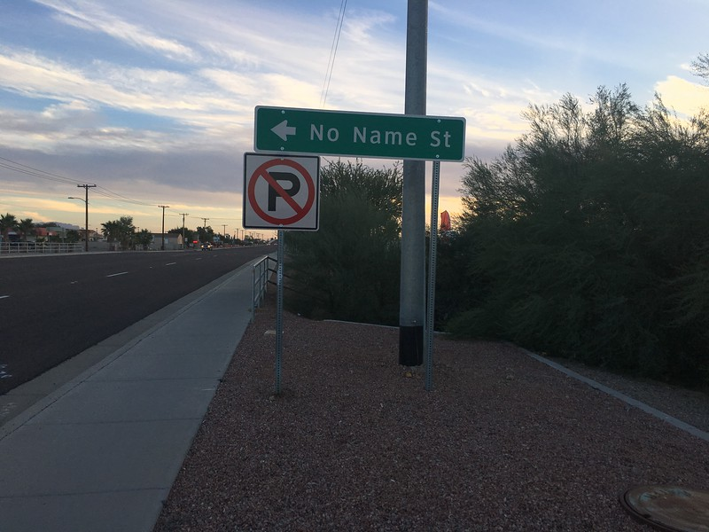 No name in Quartzsite