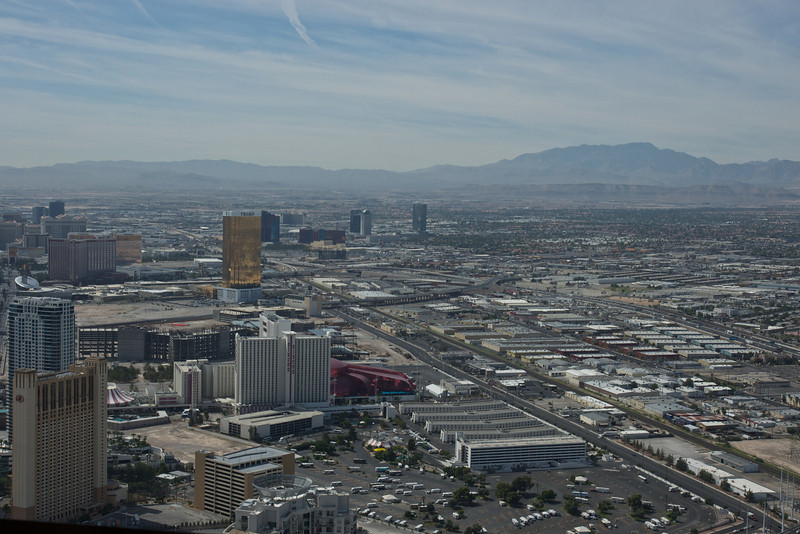Las Vegas from the Stratosphere Tower