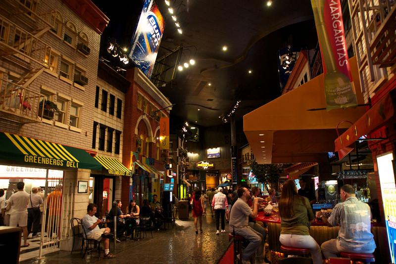 Inside New York New York, Las Vegas, Nevada
