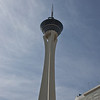 The Stratosphere Tower, 1149ft high from which you can bet shot out over the edge, hang and spin over the edge or jump off the edge if you like,  just nth of The Strip, Las Vegas, Nevada