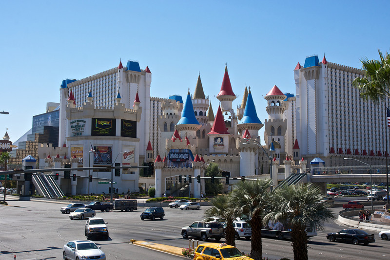 The Excalibur, The Strip, Las Vegas