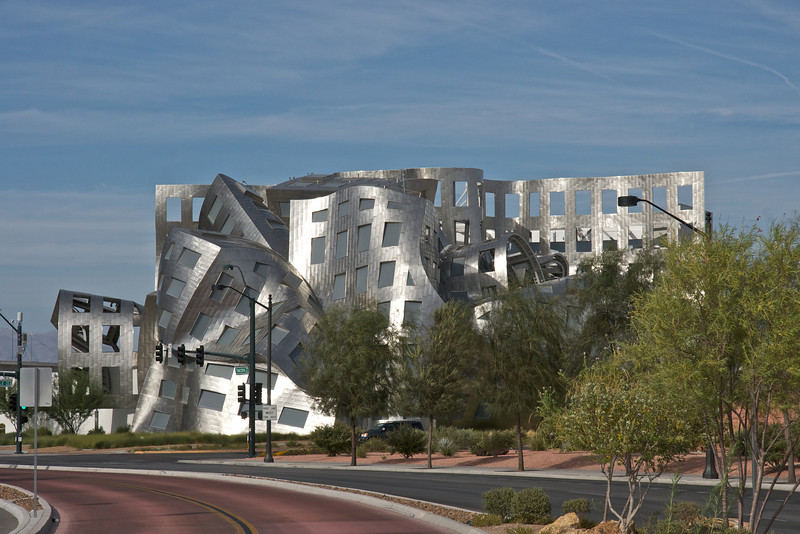 The Cleveland Clinic Lou Ruvo Centre for Brain Health, designed by Frank Gehry and opened 2009 in Las Vegas Nevada