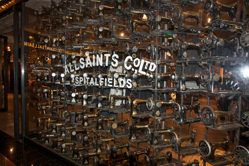 Window of a shop in  the Cosmopolitan, Las Vegas