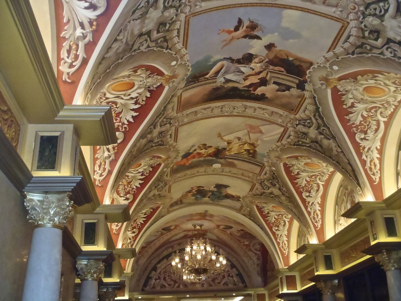 Inside the Venetian Casino, Las Vegas Nevada