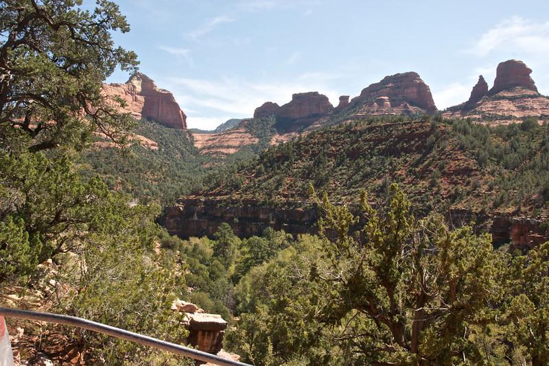 View from Oak Creek Canyon Vista Point