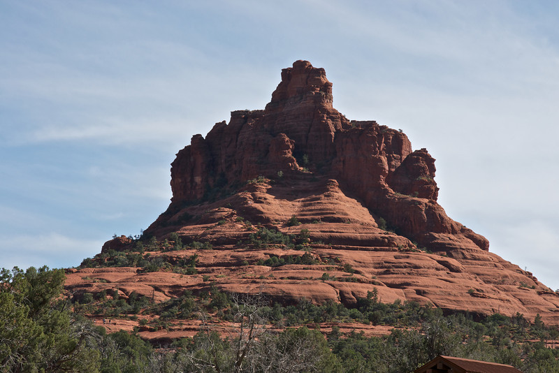 Rock formation, Oak Canyon, south of Sedona, Arizona