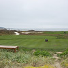 A green on one of the many golf courses on the renown 17 mile drive
