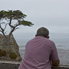 Taking in the view at Lone Pine on 17 Mile Drive