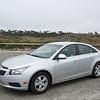 The car, a Chevrolet Ctuze