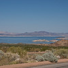 Lake Mead, formed by Hoover Dam, Nevada