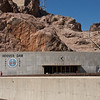 The Hoover Dam in Black Canyon on Colorado River between Arizona & Nevada, built 1931-36