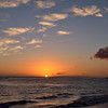 Sunset across Kikiaola beach<br /> Waimea,<br /> Kauai