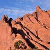 Sandstone rock fins<br /> <br /> Arches National Park