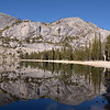 Mirror image on Tenaya Lake<br /> Tioga Road,Yosemite
