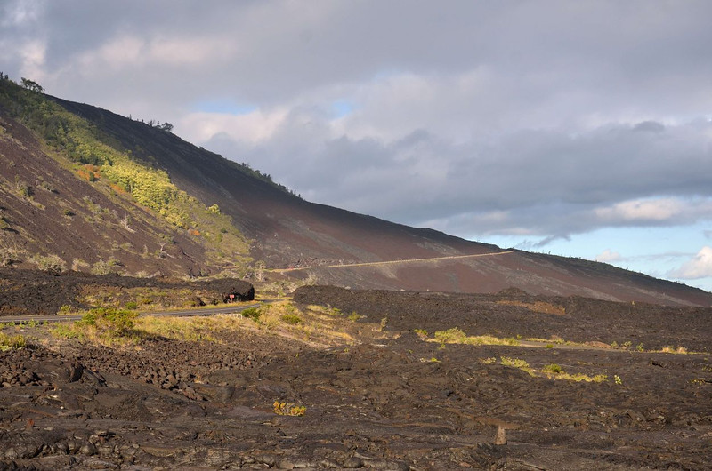 Chain of Craters Road<br /> Volcanoes National Park<br /> Hawaii