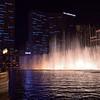The dancing fountains<br /> Bellagio,<br /> Las Vegas