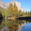 El Capitan reflection,<br /> Merced River, Yosemite