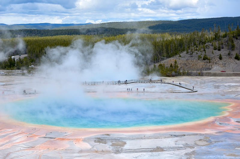 Grand Prismatic Spring<br /> Yellowstone
