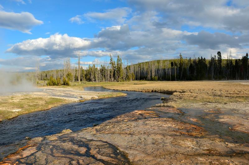 Black Sand Basin<br /> Yellowstone
