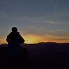 Photographing the sunset - Island in the sky<br /> Canyonlands National Park