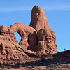 Turret Arch<br /> Arches National Park