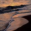 Sunset in the surf<br /> Waimea<br /> Kauai