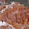 Among the hoodoos at Bryce Canyon