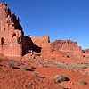 Courthouse Towers area<br /> <br /> Arches National Park