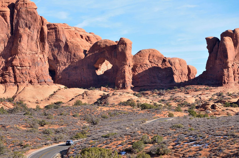Cove Arch, Garden of Eden<br /> <br /> Arches National Park