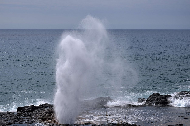 Spouting Horn<br /> located in the Koloa district on the southern coast of Kauai